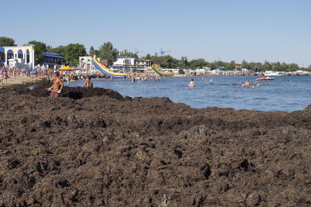 Пляж робинзон евпатория фото
