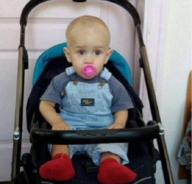 Хлопчику приблизно пывтора роки / фото kyiv.npu.gov.ua