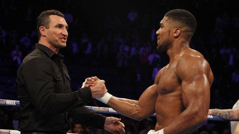 Кличко передал эстафету молодому британскому чемпиону / twitter.com/Klitschko