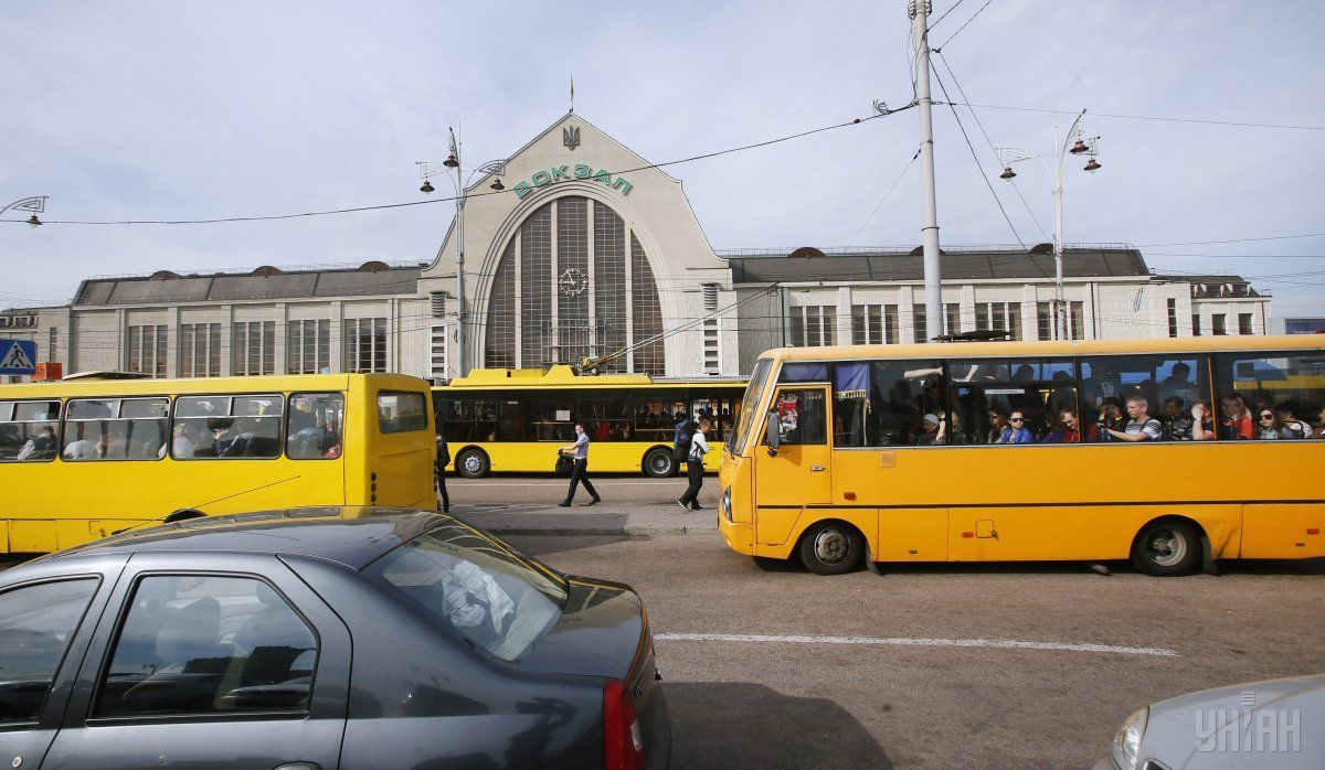 Маршрутки в Киеве могут подорожать из-за требований к перевозчикам / фото УНИАН