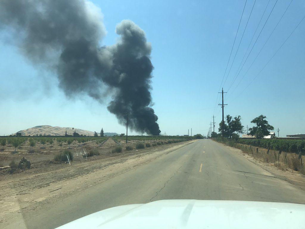 ВКалифорнии произошел пожар нахимзаводе Gar Tootelian