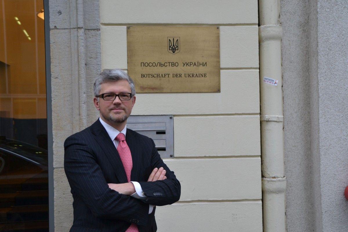 Посол Украины в Германии Андрей Мельник прокомментировал ситуацию с Навальным / фото germany.mfa.gov.ua