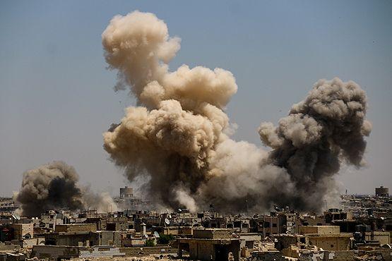 Правительственные войска обстреляли одну из«зон деэскалации» впригороде Дамаска