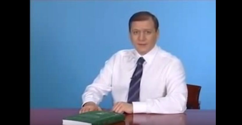 Добкин вспомнил о хитовом ролике с Кернесом / Скриншот