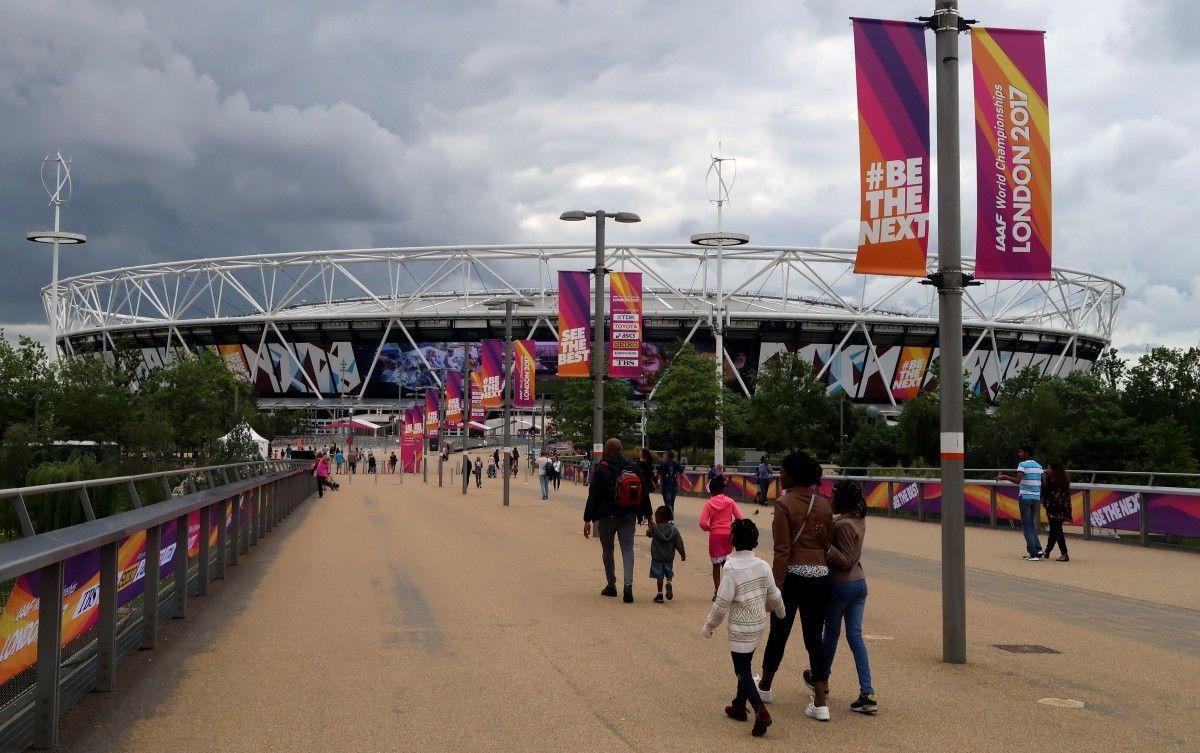 Более 25 легкоатлетов на чемпионате мира в Лондоне пострадали от вирусной инфекции / Reuters