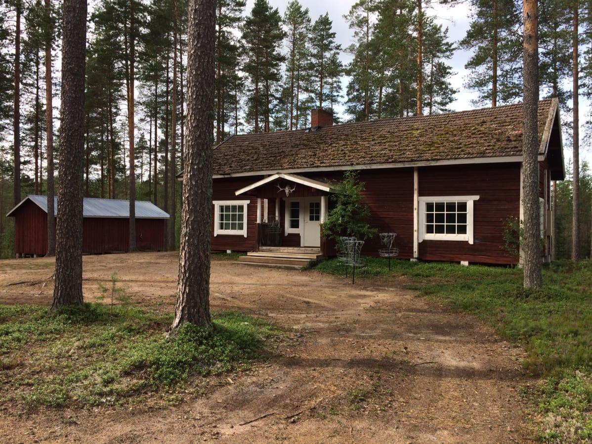 Будинок, в якому жила група / фото yle.fi