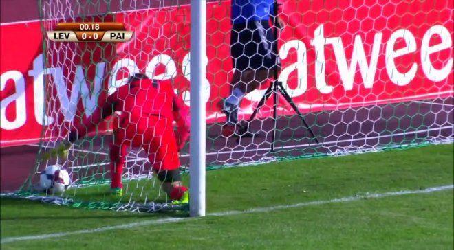Эстонская команда забила гол, никогда некоснувшись мяча