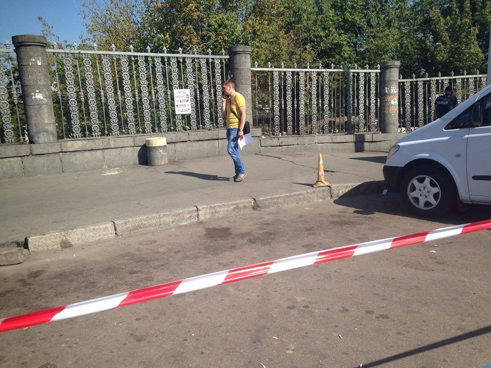 Вранці на вокзалі сталася стрілянина / Facebook Оксана Блищик