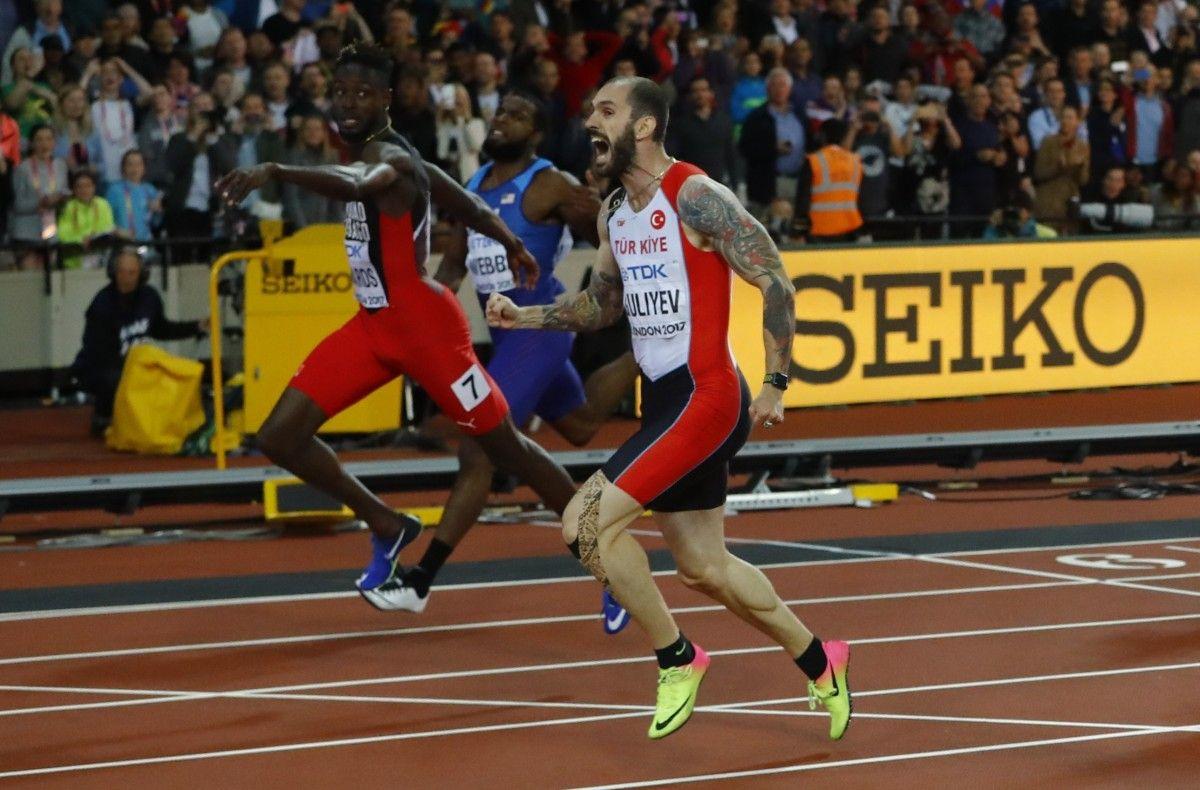 Гулієв виграв першу 200-метрівку після Болта / Reuters