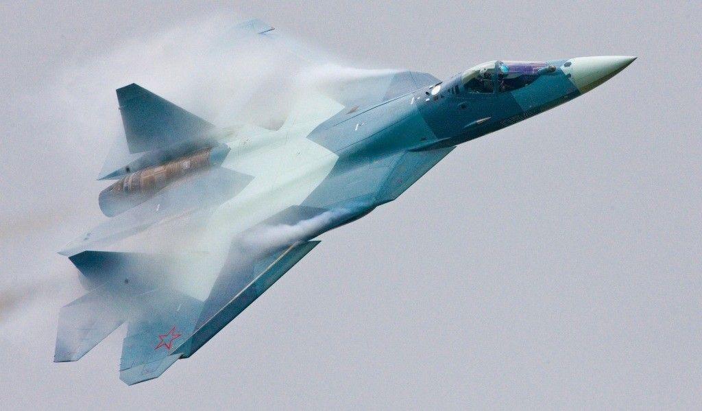 Россия продолжает отрабатывать применение Су-57 на сирийцах / фото aviarf.ru