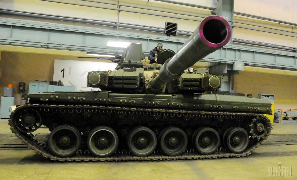 The Ukrainian-made Oplot tank / Photo from UNIAN