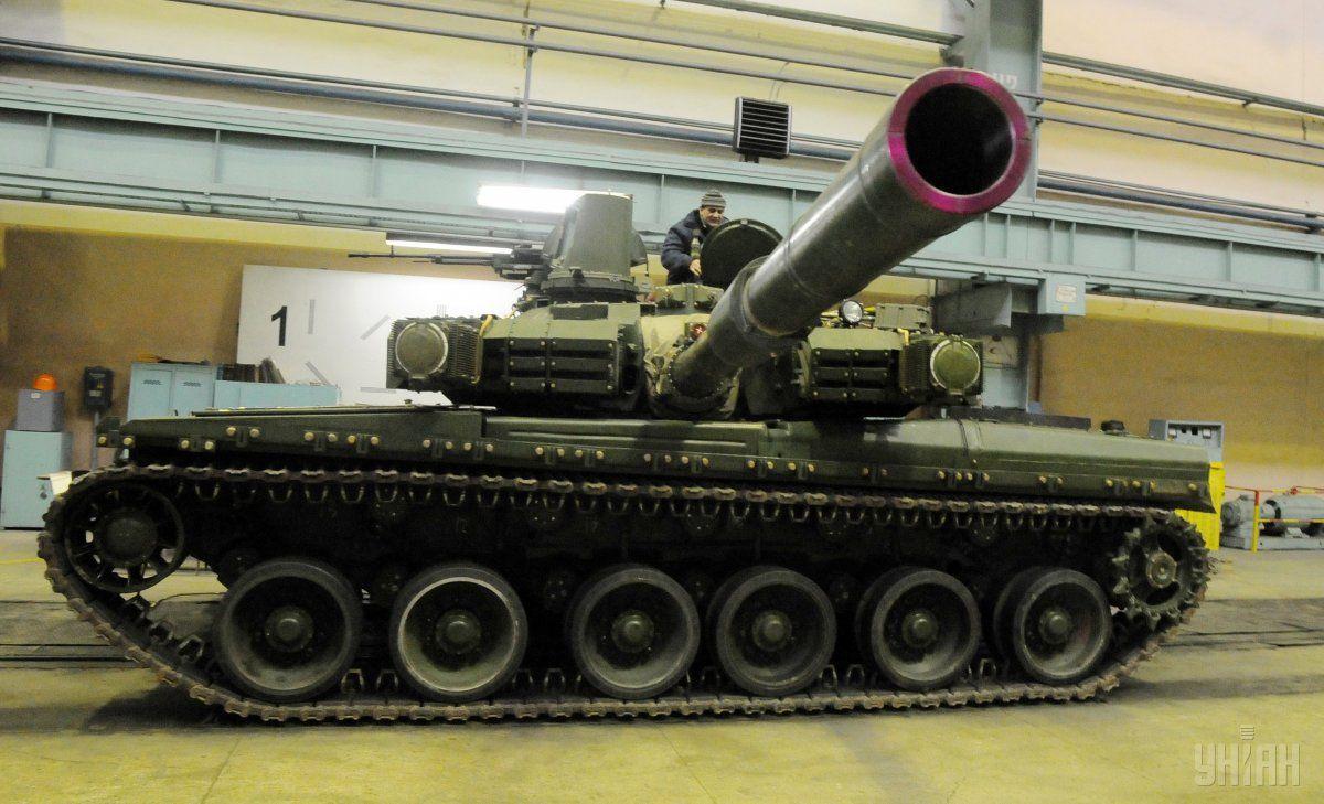 """Ранее Таиланд получил все 49 украинских танков """"Оплот"""" / фото УНИАН"""
