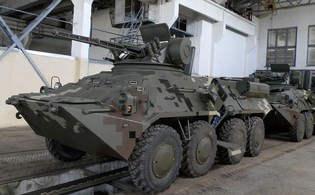 Ukraine supplied to Thailand 34 units of new BTR-3 APCs of different modifications / Photo from UNIAN