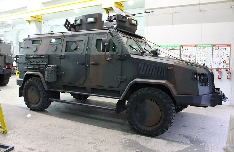 Ukraine will supply 680 Kozak-2M armored vehicles to the Ministry of Defense of Bangladesh / Photo from UNIAN