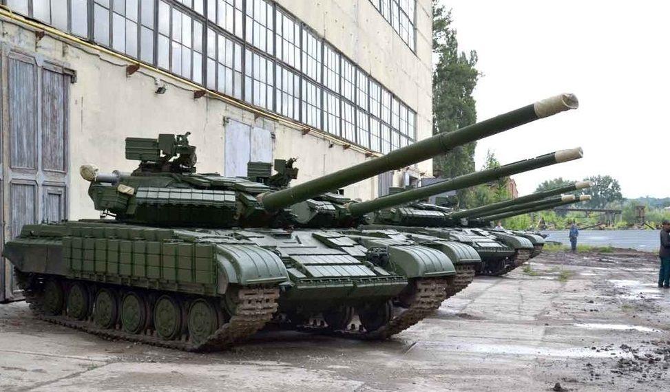 На Донбасс отправлено 6 танков Т-64 / фото УНИАН