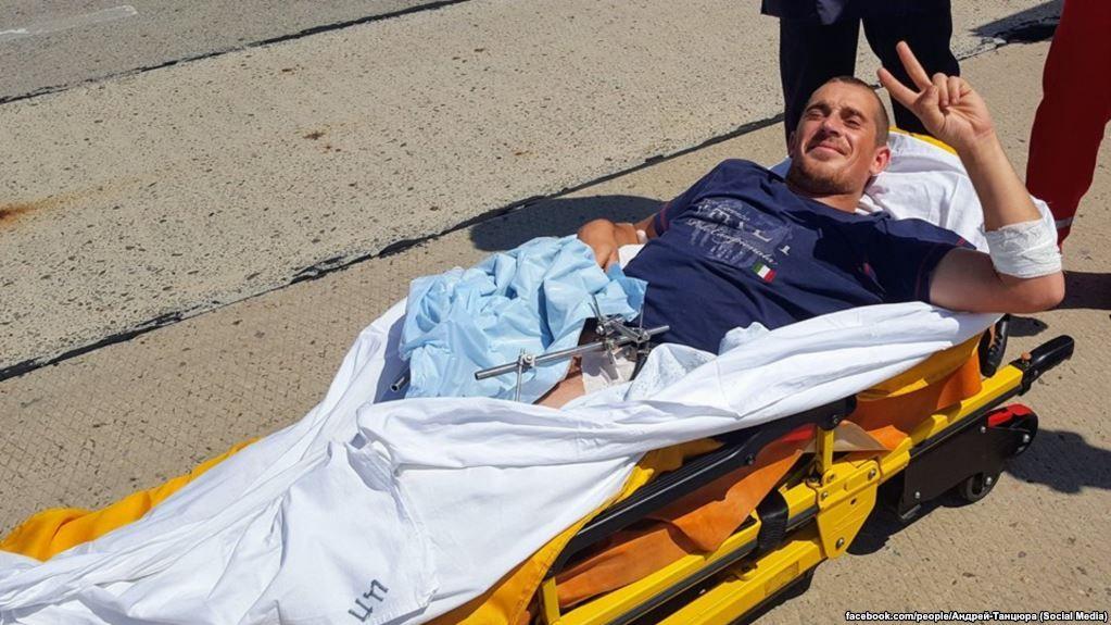 Боєць 28 ОМБр 23-річний Дмитро зараз перебуває в одеському шпиталі / facebook.com