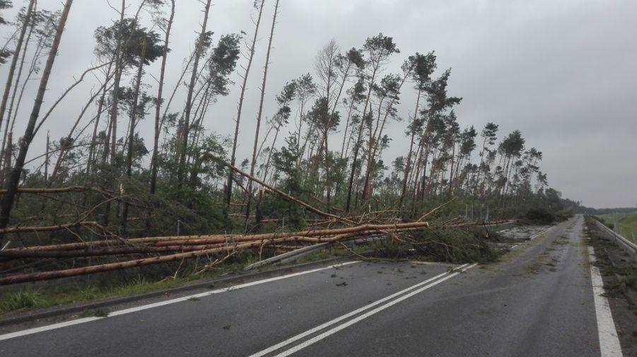 Наслідки урагану в Польщі
