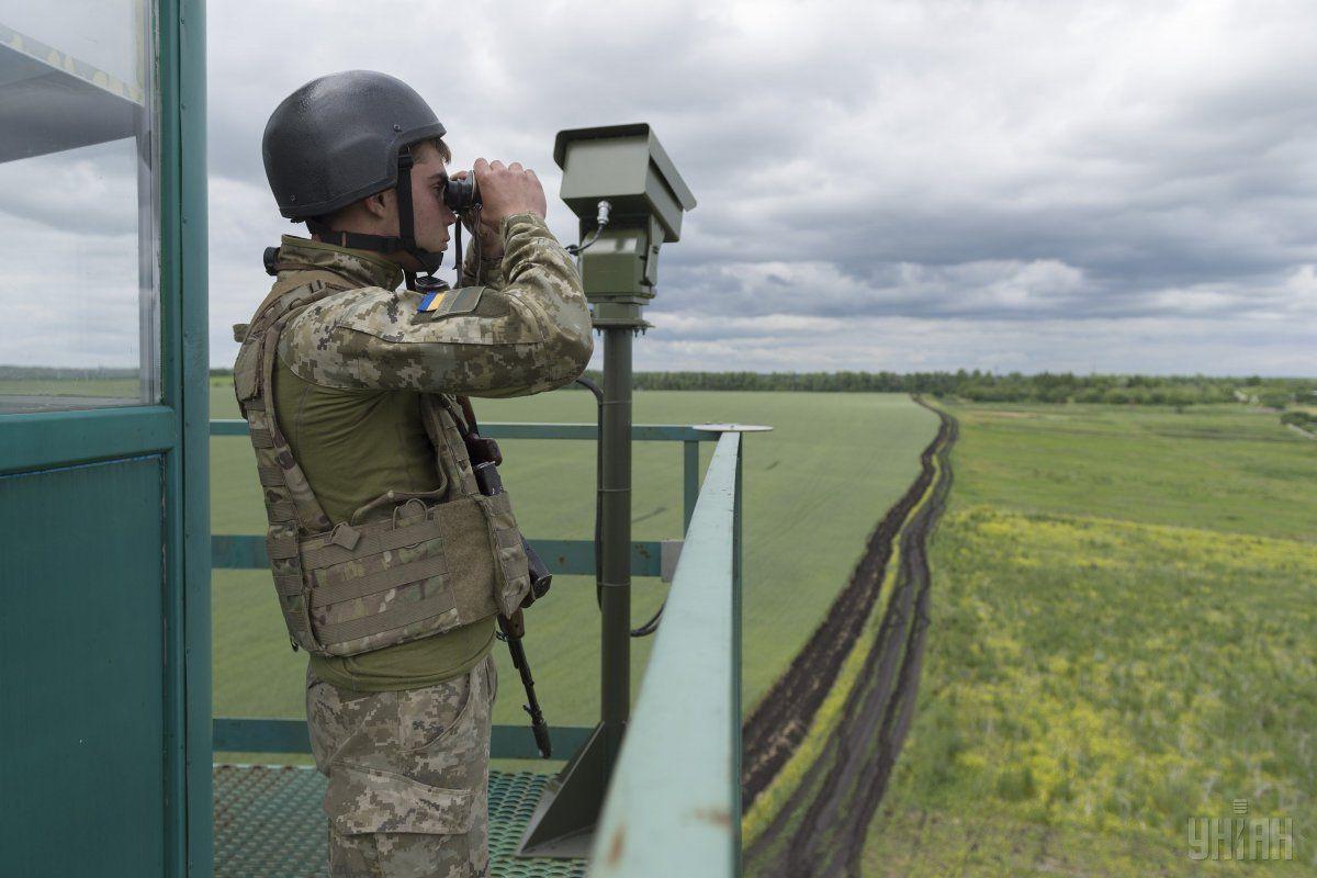 Украина в четырех областях усилила охрану границы с ЕС / фото УНИАН