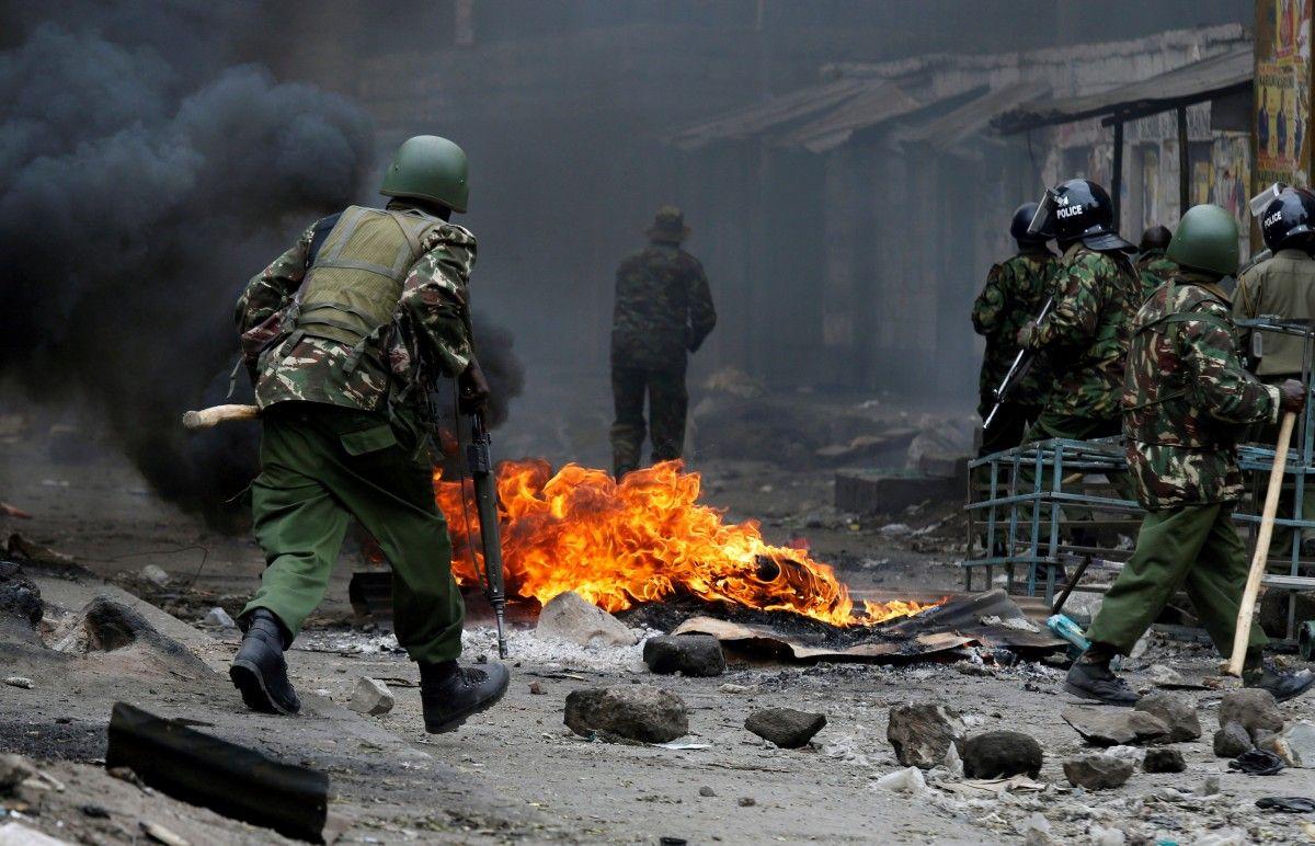 Протесты после выборов в Кении: убиты два человека, еще пятеро ранены