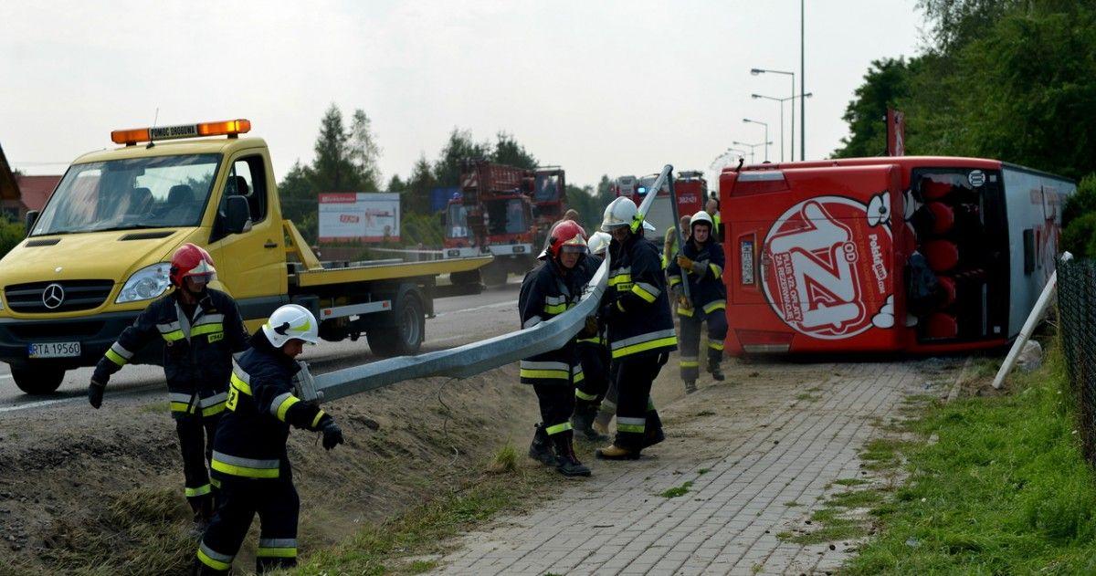 Що стало причиною аварії поки невідомо / rmf24.pl / PAP/Darek Delmanowicz