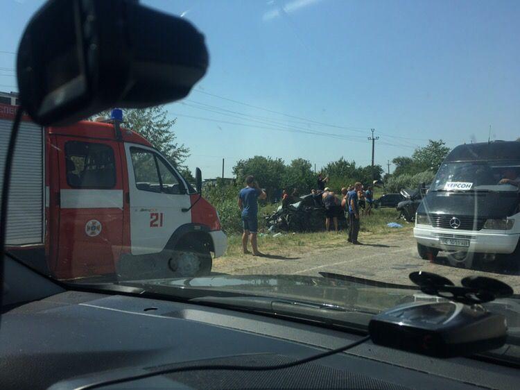 Двое пострадавших скончались уже после аварии / kherson.net.ua