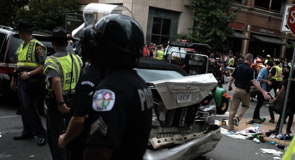 Місце ДТП у Шарлотсвіллі / REUTERS