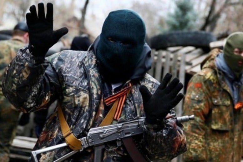 Бойовик затриманий за участь у незаконних збройних формуваннях / фото narodna-pravda.ua