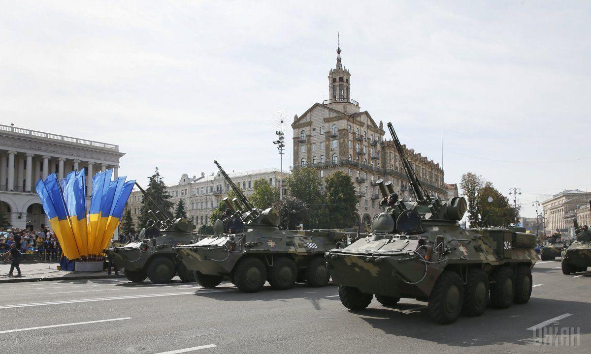 Парад з нагоди Незалежності України у Києві 24 серпня 2014 року / фото УНІАН