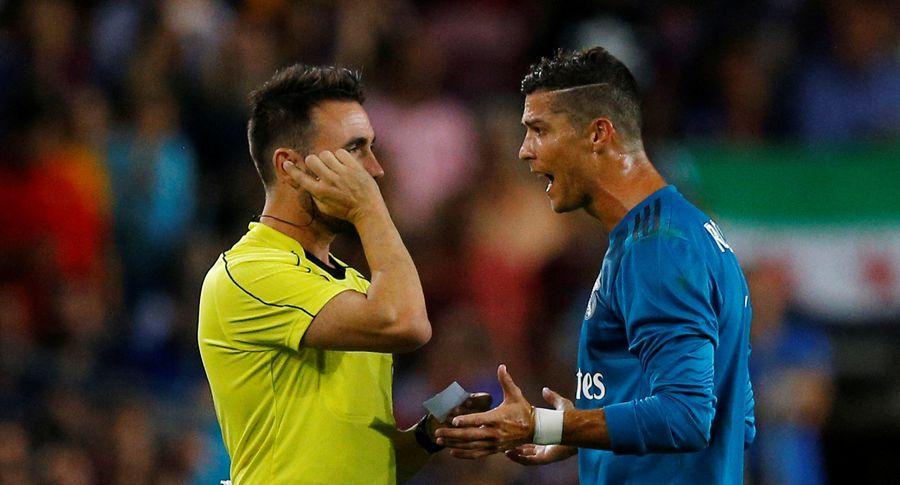 Роналду вынужден будет пропустить пять матчей / Reuters
