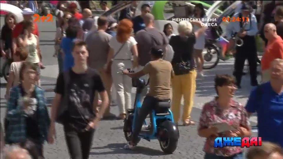 В Праге за использование эко транспорта ввели штраф /