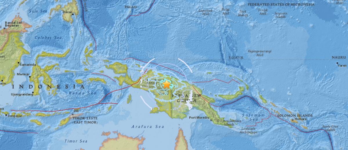 Индонезия является частью так называемого Тихоокеанского огненного кольца / фото earthquake.usgs.gov