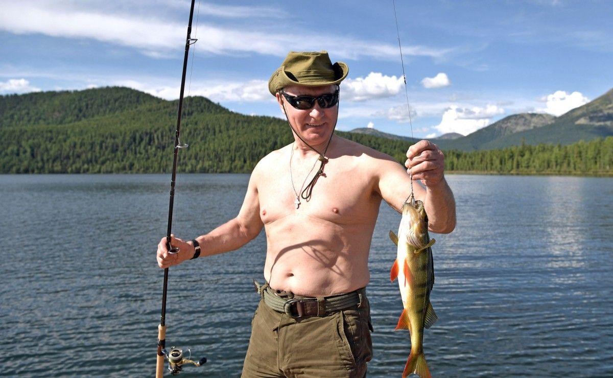 Дуров бросил вызов Путину, тоже оголовши торс / фото kremlin.ru