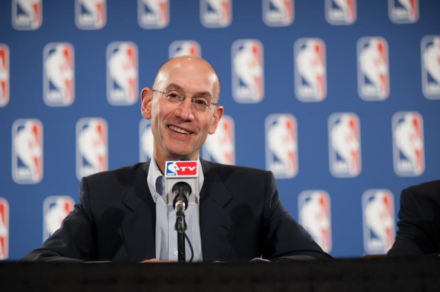 Комиссионер НБА Адам Сильвер сообщил, что лига открыта к обсуждению легализации марихуаны / slamonline.com
