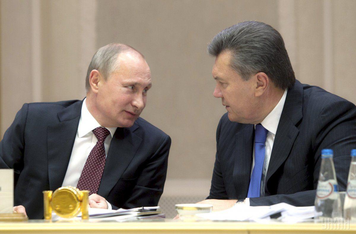 Обращение Януковича к Путина было последним звеном в плане РФ / Фото УНИАН