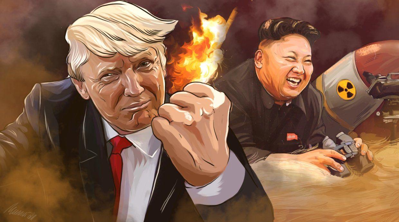 За ядерною суперечкою між США та КНДР спостерігає увесь світ / скріншот УНІАН