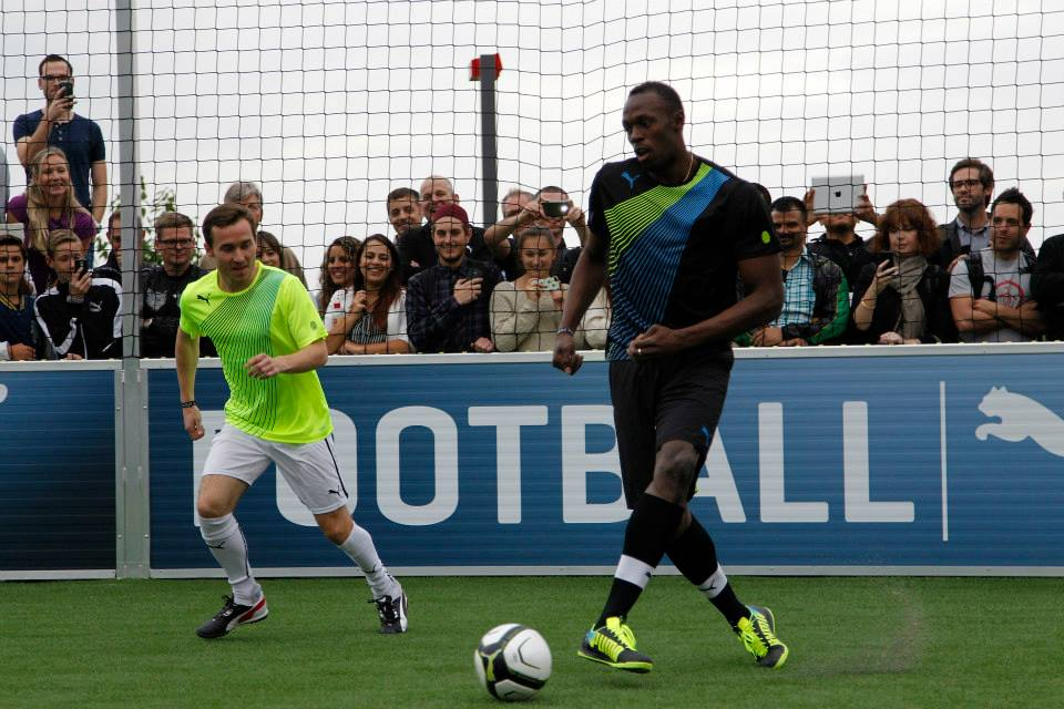 Болт зіграє у футбол по закінченні спринтерській кар'єри / Waahgwanja