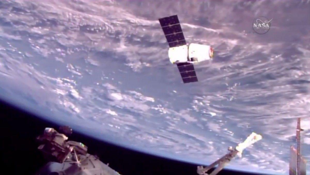 12-й запуск Dragon пройшов успішно / Фото twitter.com/NASA