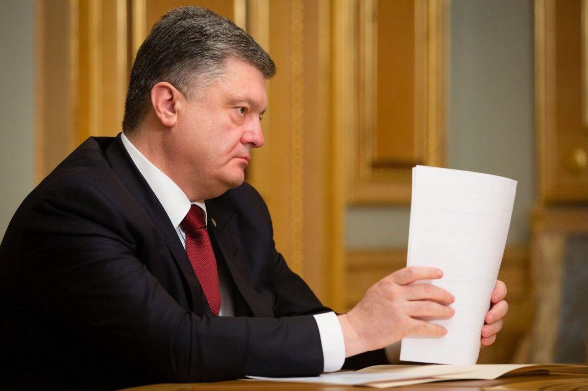 Петр Порошенко прокомментировал скандальную статью NYT / фото Facebook Петр Порошенко