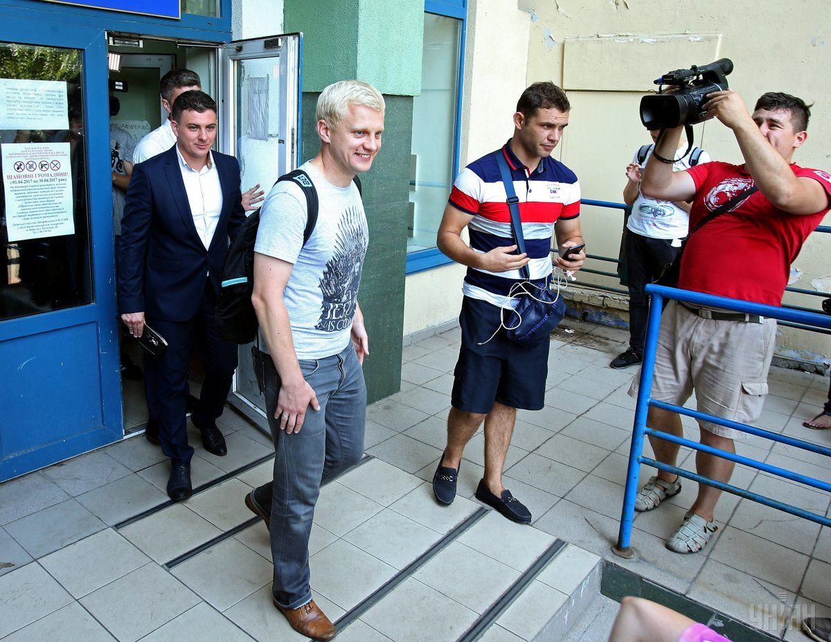 Шабунина выпустили под личное обязательство / фото УНИАН