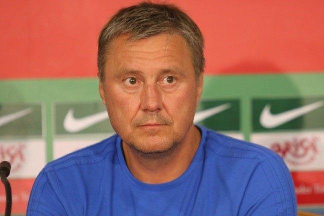 Хацкевич считает шансы соперников абсолютно равными / fcdynamo.kiev.ua