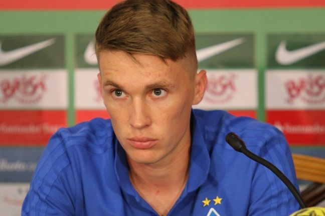 Сидорчук з великою повагою ставиться до суперника / fcdynamo.kiev.ua