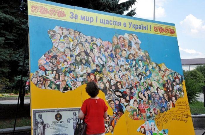 Житомир присоединился к Всеукраинской акции / фото Житомирская ОГА