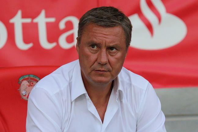 Хацкевич залишився задоволений грою команди у другому таймі / fcdynamo.kiev.ua