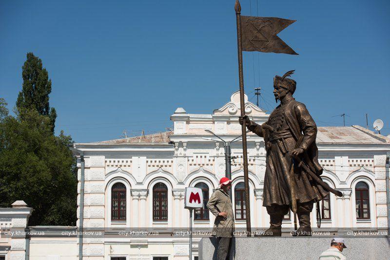 Отливать фигуру начали еще в 2011 году / фото city.kharkov.ua