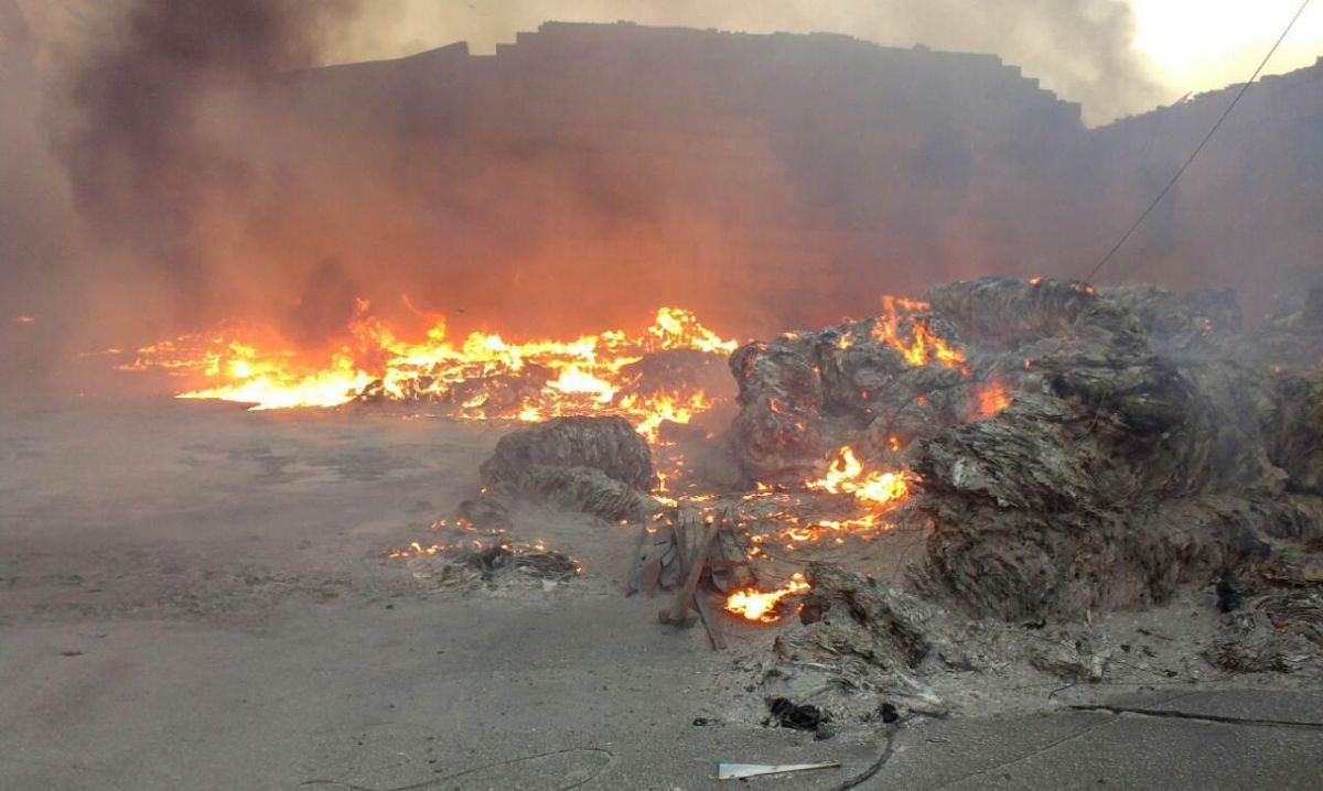 За інформацією рятувальників, жертв і постраждалих немає / фото dsns.gov.ua