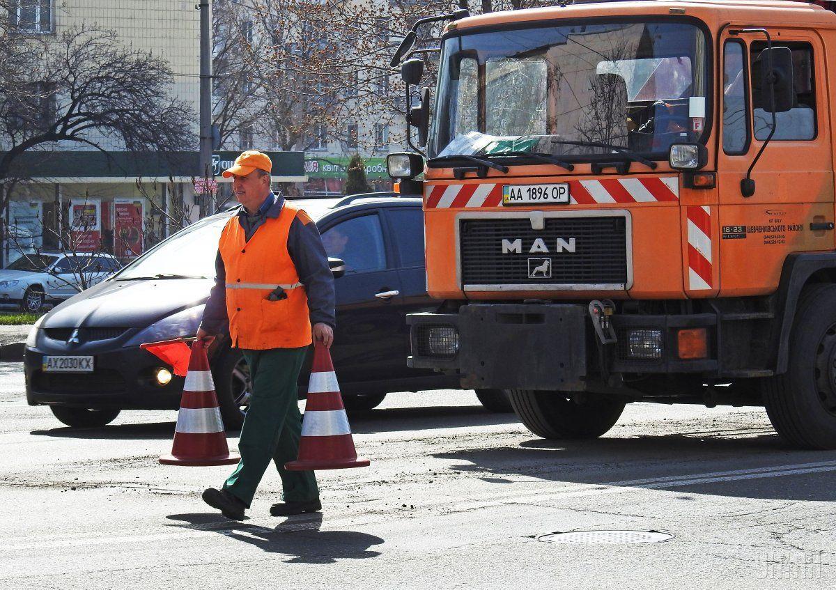На важных транспортных развязках Киева планируют ремонт / фото УНИАН
