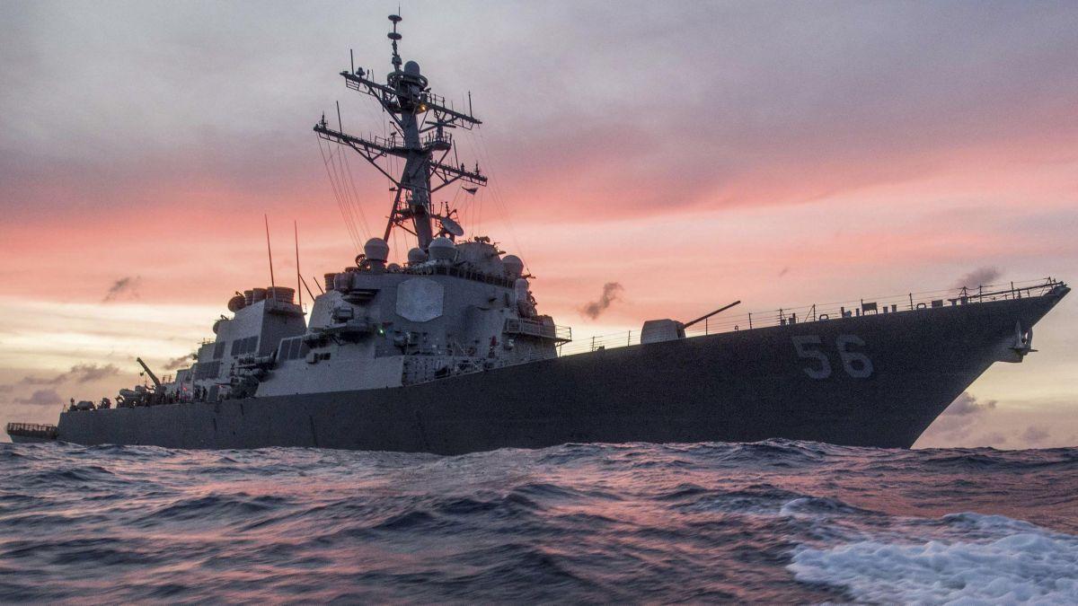 USS John S. McCain / REUTERS