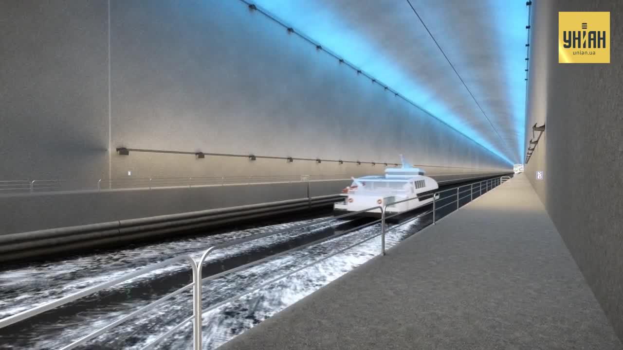Зведення тунелю оцінюють у 270 млн доларів / скріншот УНІАН