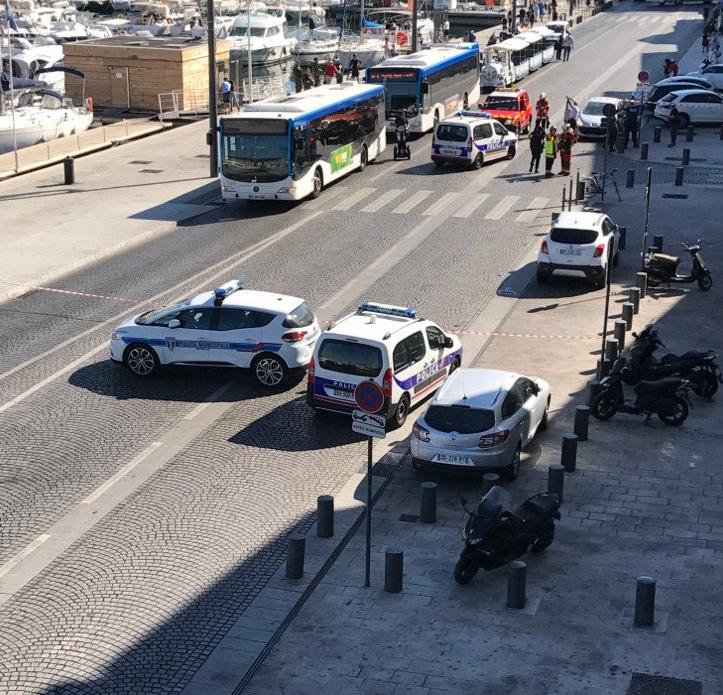 Місце аварії в Марселі / фото @laprovence