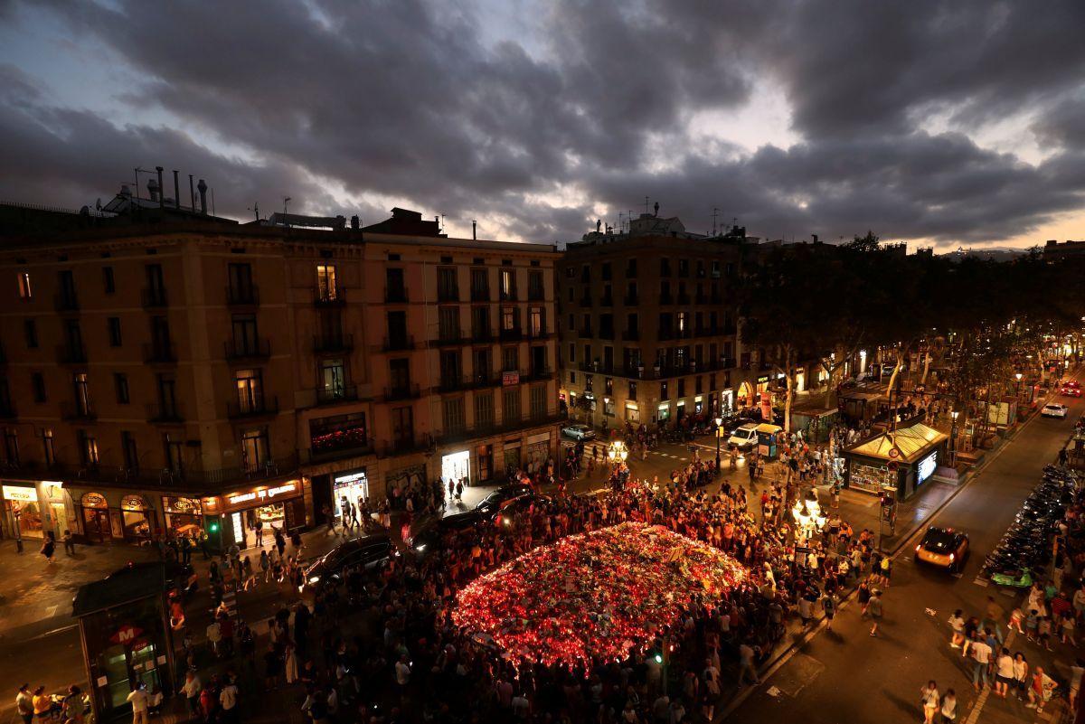 Ла Рамбла, Барселона / REUTERS